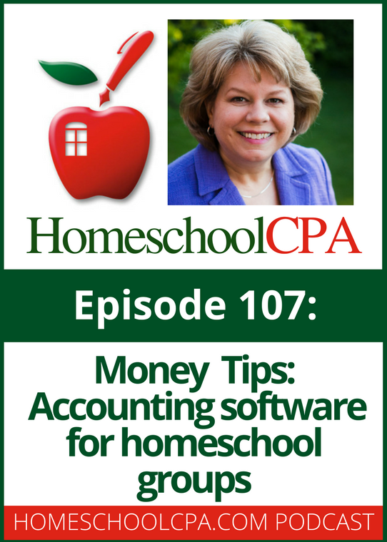 Money Tips: Accounting Software for Homeschool Organizations