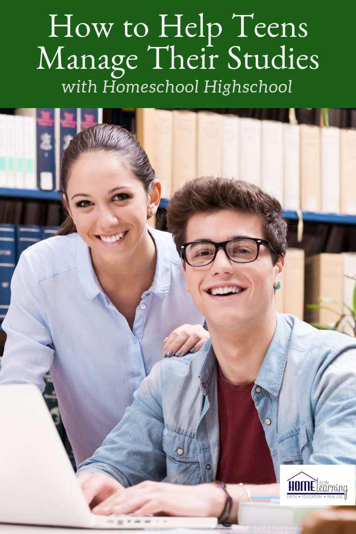 How to help teens manage their studies with Homeschool Highschool