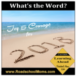 What's the Word from Roadschool Moms in 2018?