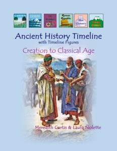 Ancient History Timeline with Timeline Figures by Meredith Curtis