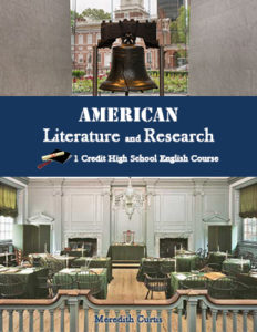 Create a High School Class like American Literature & Research by Meredith Curtis