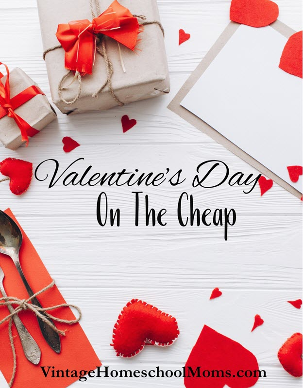 valentine's day on the cheap