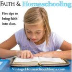 faith and homeschooling