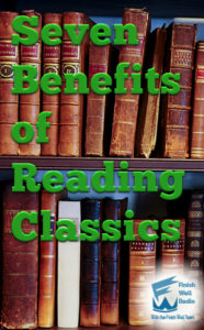 Finish Well Radio Badge, Podcast #060, 7 Benefits of Reading Classics