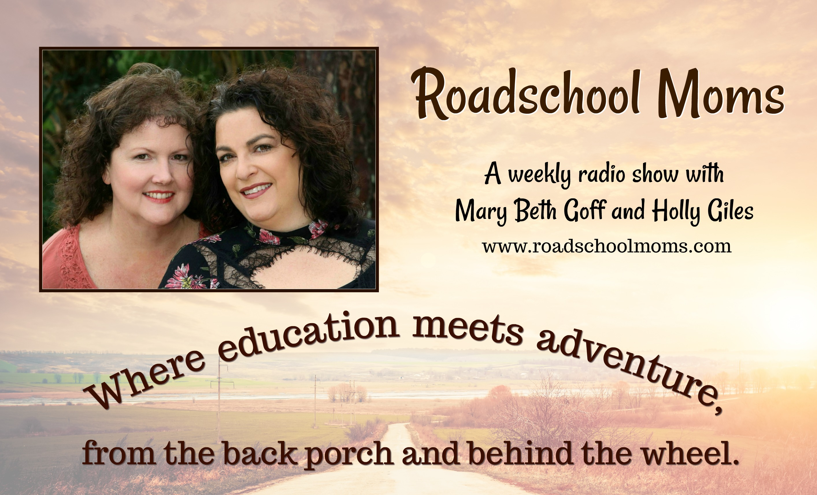 Roadschool Moms© is a weekly internet radio show ministry to connect 39a2f75bb