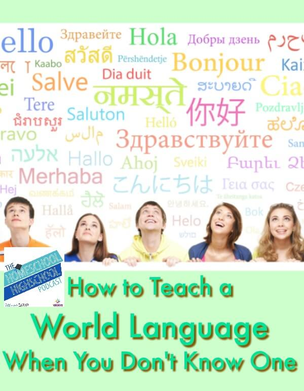 HSHSP Ep 101: How to Teach a World Language When You Don't Know One