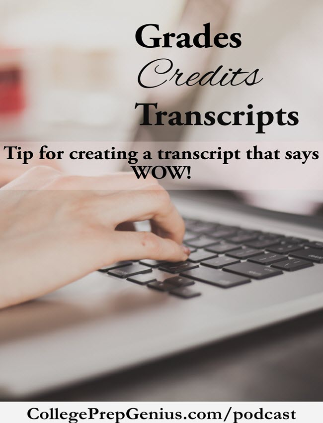Transcripts Credits Grades