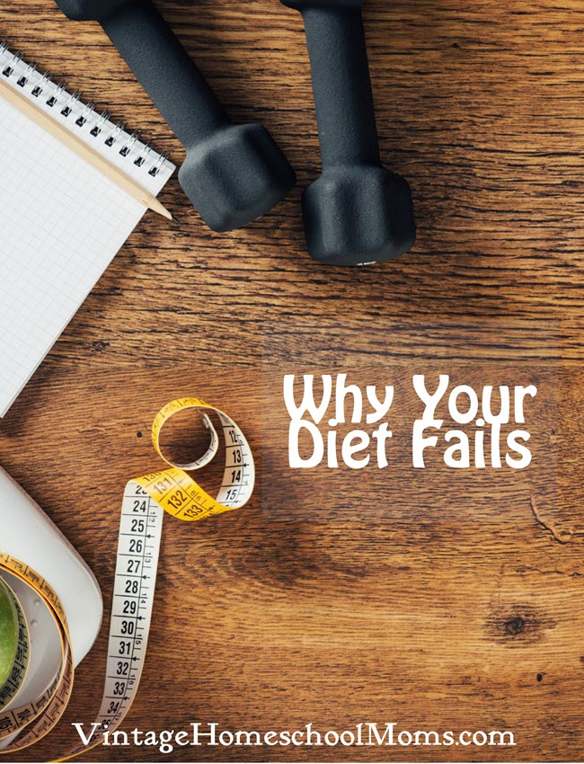 why your diet fails | It happens all the time, and not is the time to figure out why your diet fails. If you are like me and have tried and failed at dieting, you are in store for a treat! #Homeschool #homeschooling #podcast #dietfails