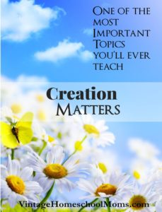 creation matters