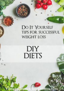 DIY Diets | I wanted to find great DIY diets and there are so many out there – and so I set out on a search! #Homeschool #homeschooling #podcast #DIYdiets
