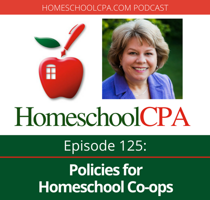 What types of policies should your homeschool co-op have? How will having policies help you avoid burning out as you lead your group? Carol Topp, the HomeschoolCPA, answers these questions and more from homeschool leaders.