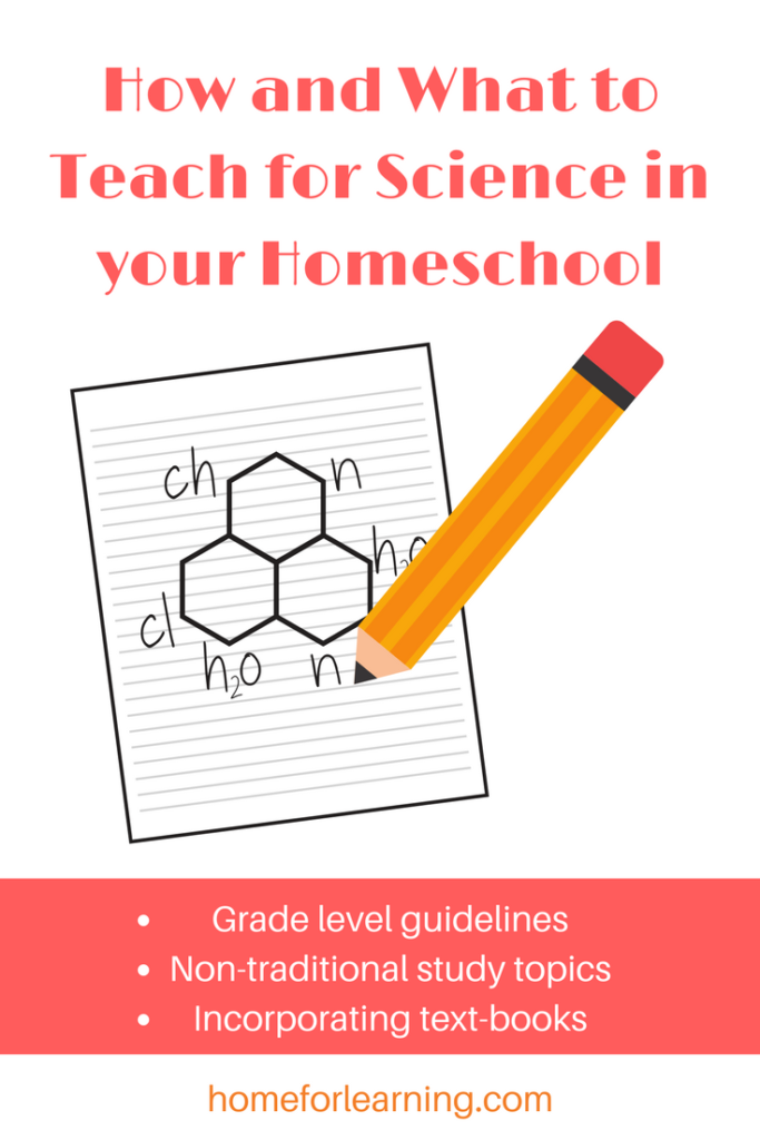 Unit Studies are an ideal way to teach science for how and what to teach with science in your homeschool. You have the flexibility and freedom to determine what your children learn when and still satisfy the scope and sequence. Have fun!