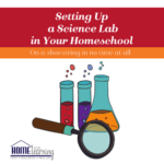 Setting Up a Science Lab in Your Homeschool
