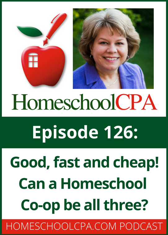 Good Fast and Cheap! Can a Homeschool Co-op Be All Three?