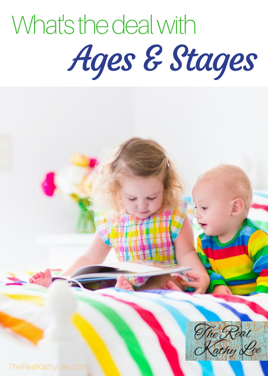 What's the deal with ages and stages in child development?