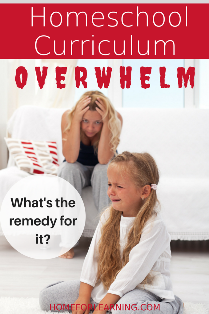 homeschool curriculum overwhelm | Do you have homeschool curriculum overwhelm? See what a plan, a budget, and a philosophy of education can do to set you free.
