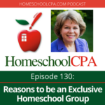 Reasons to be an Exclusive Homeschool Group