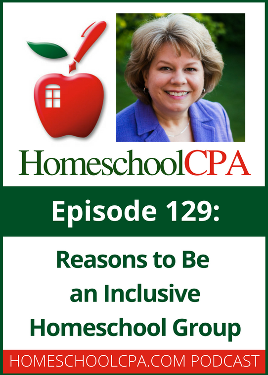 Reasons to Be an Inclusive Homeschool Group with the Homeschool CPA