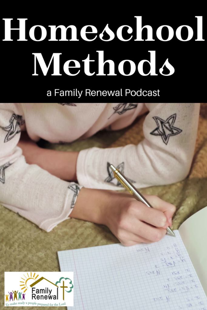 Homeschooling Methods can be a confusing topic. There are so many approaches. Join Brook & Israel as they discuss the options.