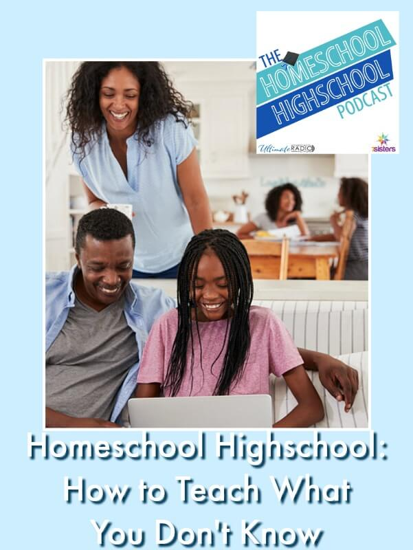 HSHSP Ep 114: How to Homeschool Highschool When You Don't Know Everything