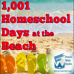 1001 Homeschool Days at the Beach | Yes you can actually spend 1001 Homeschool Days at the Beach and learn so much more than in a book! Join us to find out more. | #podcast #homeschoolpodcast #beach
