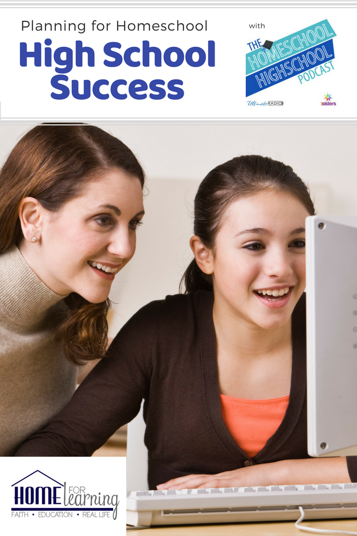 Planning for Homeschool High School Success with Homeschool High School