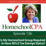 Is My Homeschool Group Required to Have 501c3 Tax Exempt Status?