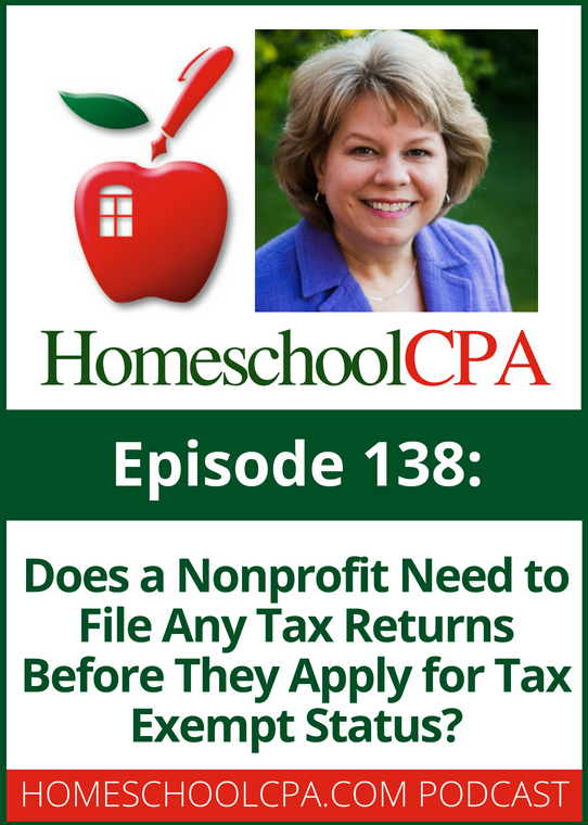 Does a Nonprofit Need to File Any Tax Returns Before They Apply for Tax Exempt Status?
