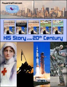 20th Century History Books by Powerline Productions, Inc.