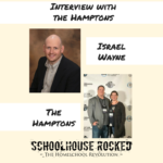 Schoolhouse Rocked Interview with Garritt and Yvette Hampton