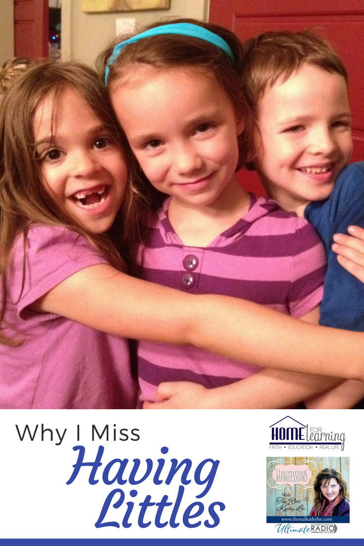 Why I Will Miss Having Littles - and why you will too! From The Real Kathy Lee - Enjoy these early days! Click to read more on the blog.