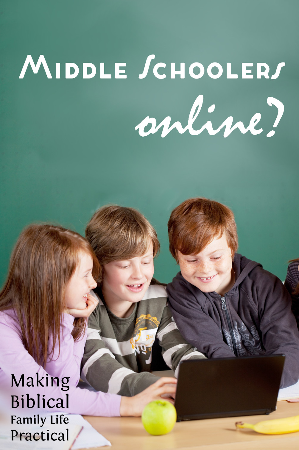Should your middle schooler be online?