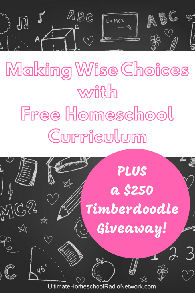 Free Homeschool Materials | Making Wise with Free Homeschool Curriculum