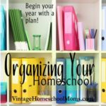 Organized HomeSchool | The new school year is a time of excitement. Let's start this year with an organized homeschool! #homeschoolpodcast #podcast #organization