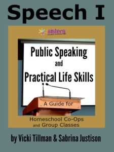 Public Speaking and Practical Life Skills from 7SistersHomeschool.com