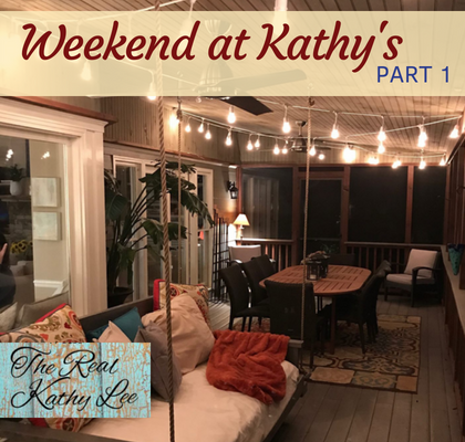 Women from all over the country took a leap of faith by joining me, The Real Kathy Lee, in my home for an entire weekend. We decided to record a podcast for you! Click to Listen!