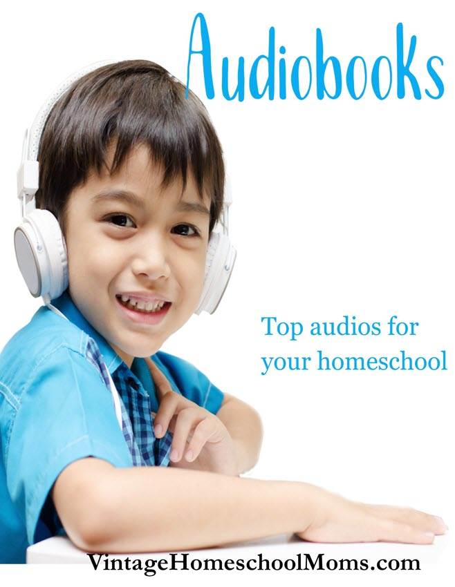 audiobooks |  Here are my top audiobooks for your homeschooling. #podcast #homeschool #homeschooltips