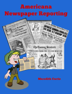 Newspaper Reporting Middle School Course by Meredith Curtis