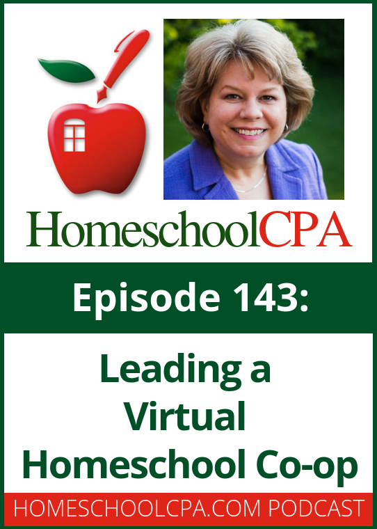 In today's podcast Carol Topp interviews homeschool leader Sheri Payne who runs a virtual homeschool co-op that meets online.
