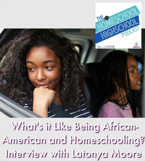 HSHSP Ep 127: What's it Like Being African-American and Homeschooling? #AfricanAmericanHomeschoolingFamilies This photo shows a family in a car on a road trip.