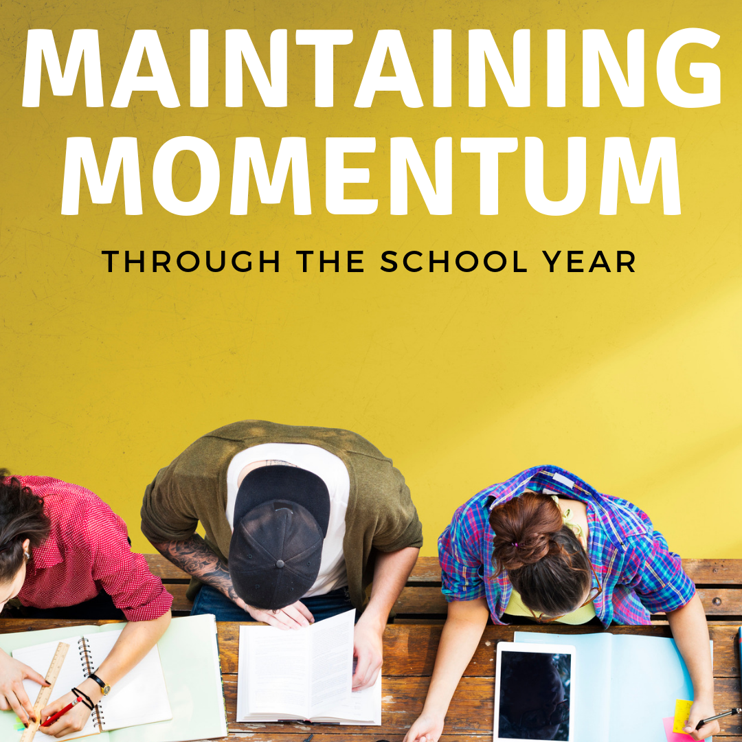 Maintaining Momentum through the Homeschool Year - with Homeschool Highschool Podcast