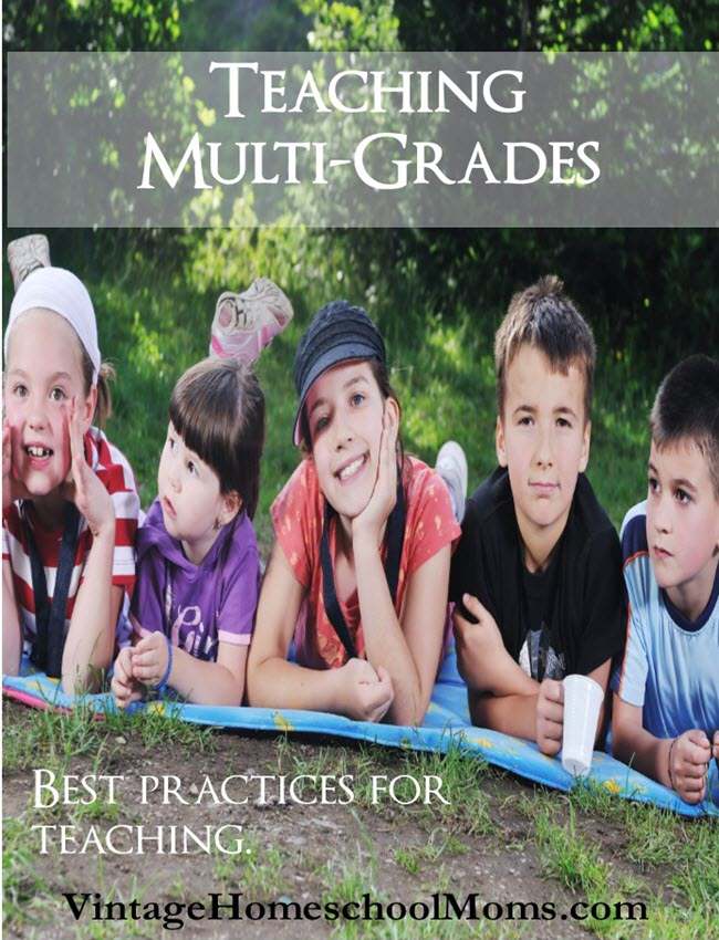 Teaching Multi-Level Grades | Do you struggle teaching multi-grades in your homeschool? In this episode, I share some techniques that will help you. #podcast #homeschoolpodcast #multi-level
