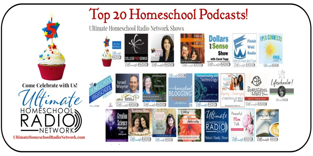 top 20 homeschool podcasts | The Top 20 Homeschool Podcasts by speakers, authors, bloggers and moms and dads just like you! #homeschool #podcast #homeschoolpodcast #top20homeschoolpodcast