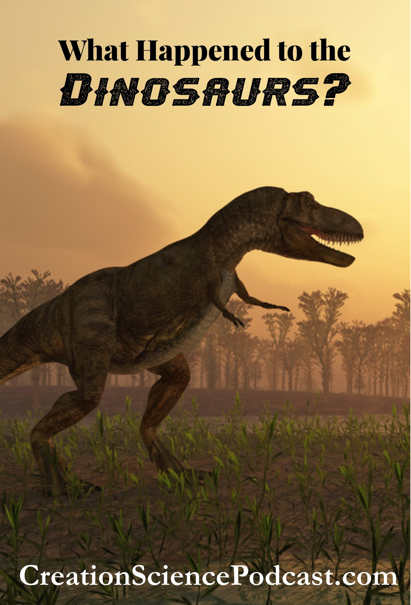 What Happened To The Dinosaurs? | This podcast is for kids to learn about the dinosaurs. #podcast #creationscience #dinosaurs #homeschool