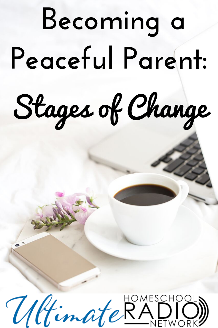 If you want to parent more peacefully, changing your parenting isn't easy. How can we be more self-controlled as moms? How can we become more patient? How do we stop yelling at our kids? In this podcast, we'll discuss the stages of change as it relates to becoming a more peaceful parent. #Christianparenting #Peacefulmomtalk