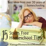 15 Stress Free homeschool Tips | Here are some great 15 stress free homeschool tips that will help! #stressfree-homeschool tips @stress-free-homeschool tips #podcast #homeschool #homeschoolpodcast
