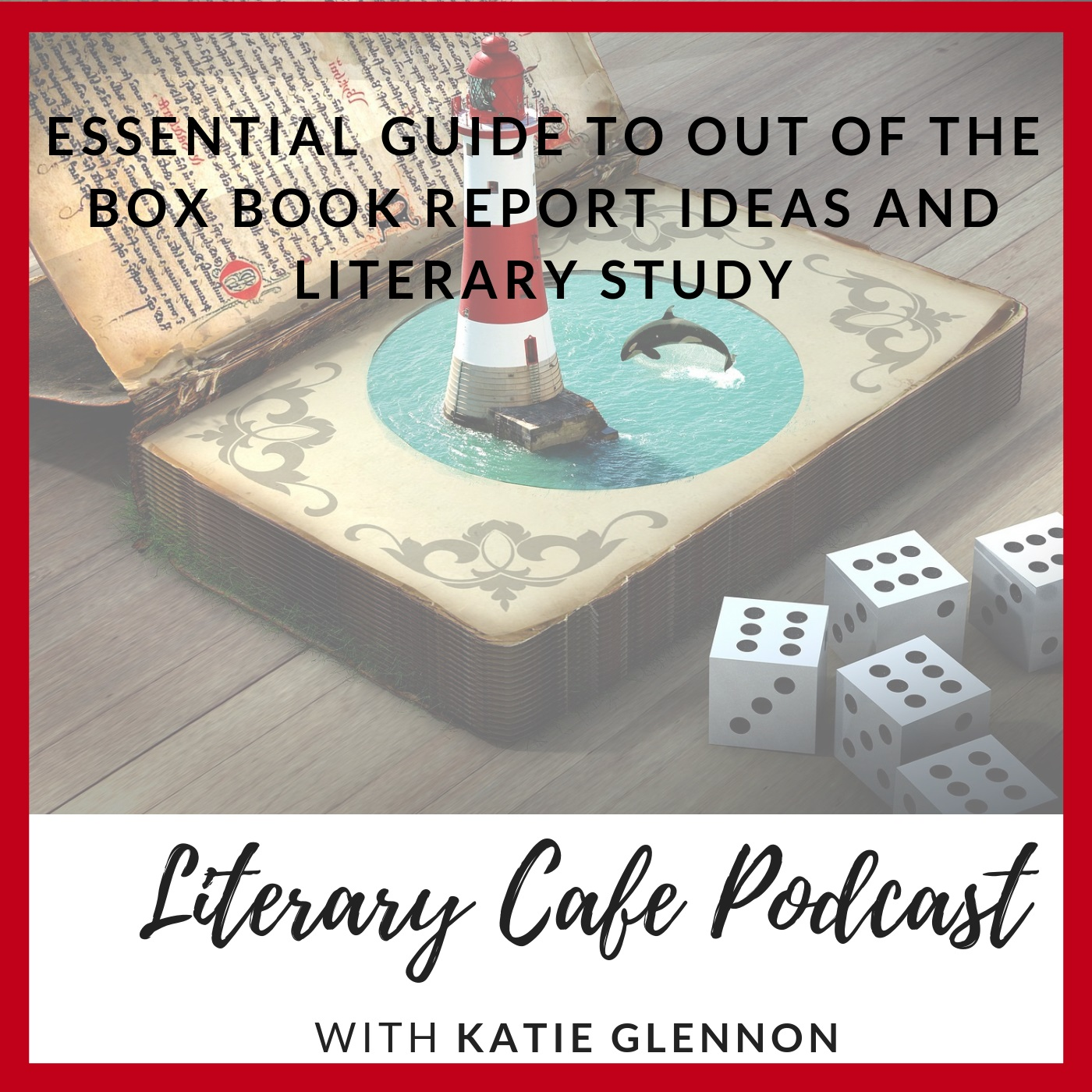 Book Report and Literary Study Ideas #homeschooling #homeschool #languagearts #reading #bookreports #literaturestudy #literarystudy #elementary #middleschool #highschool #literarycafepodcast