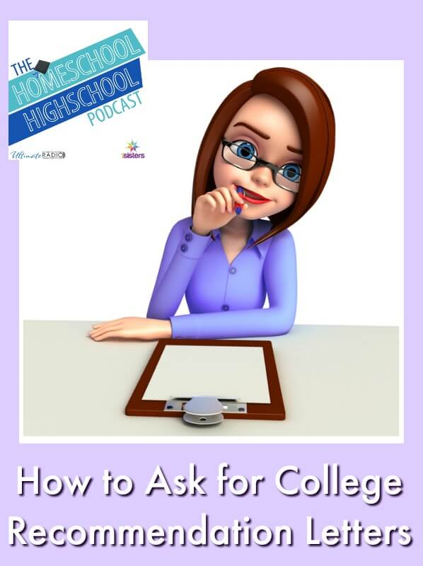 HSHSP Ep 134: How to Ask for College Recommendation Letters Here's how to ask and receive a great recommendation!