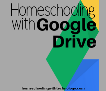 Homeschooling with google drive