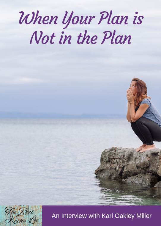 When Your Plan is not in the Plan - with The Real Kathy Lee #podcast #grief #tragedy